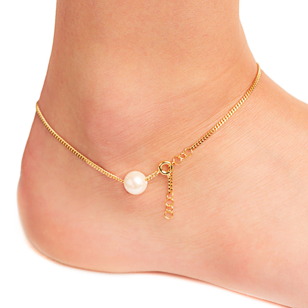 Iris Anklet Chain - Vibe Harsløf Jewelry