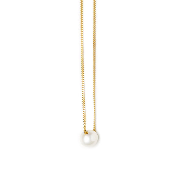 WE SINGLE PEARL NECKLACE - Vibe Harsløf Jewelry