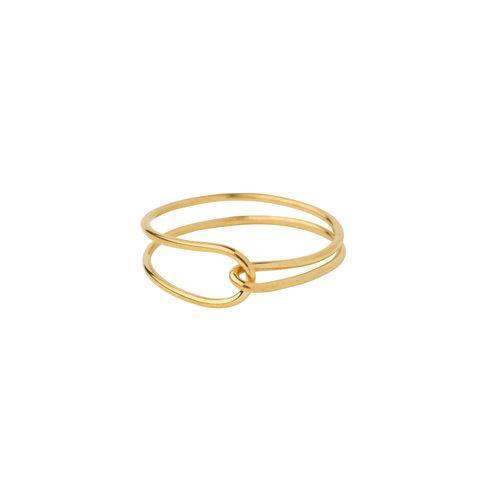 LILY RING, gold