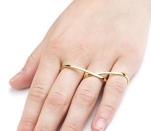 LILY 3 FINGER RING