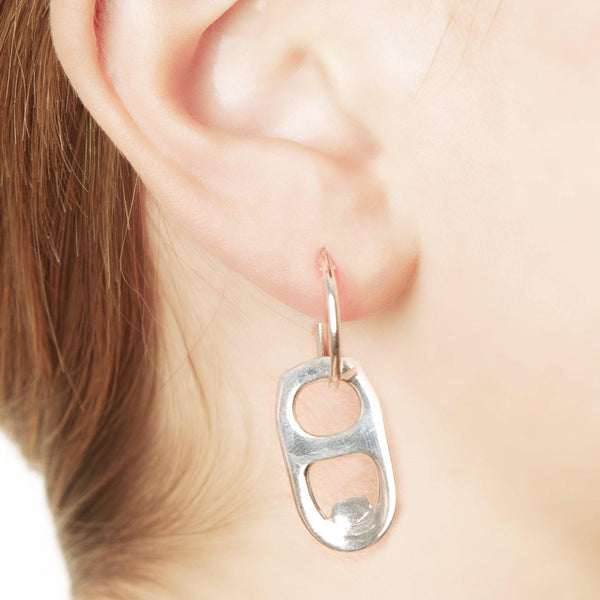 BEER CAN OPENER EARRING