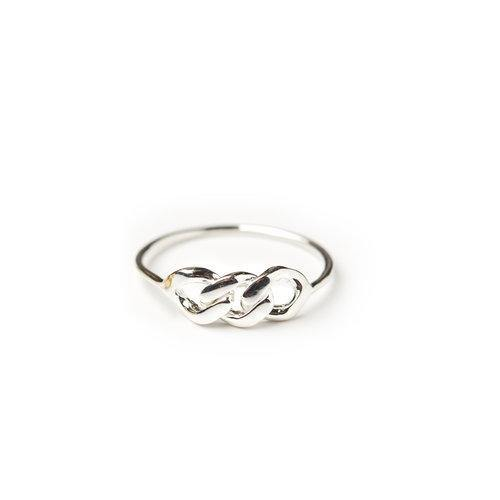 WS CHAINPART RING, large silver