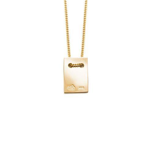 ANNA NECKLACE w tag, gold