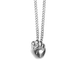 SARA NECKLACE GIRLPOWER, silver