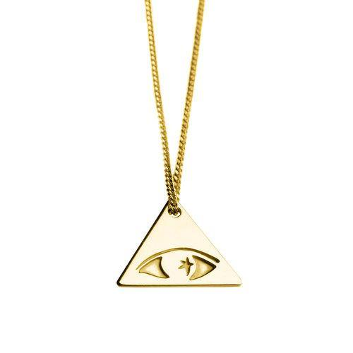 ILLUMINATI NECKLACE, gold