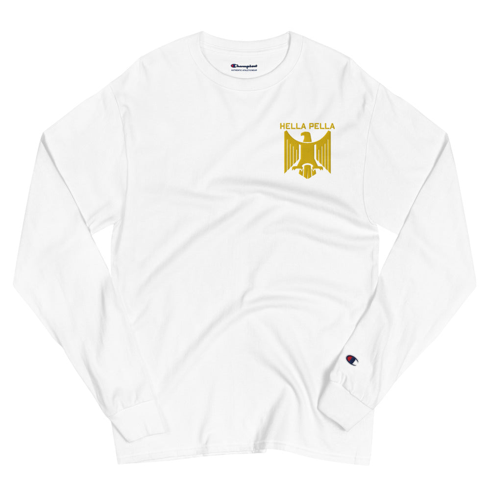 NYC Aegytos Hawk Embroidered Champion Long Sleeve