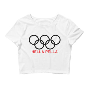 NYC Olympic Crop Tee