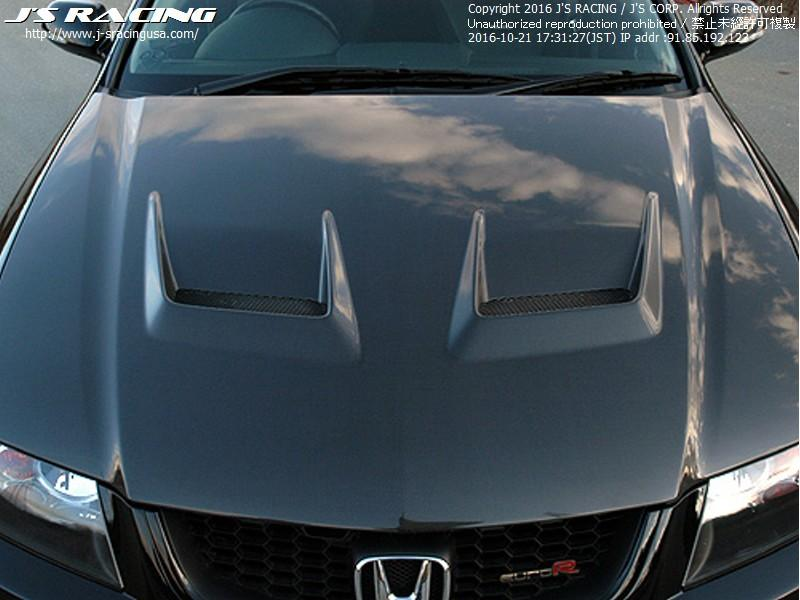 J'S RACING Type V full CFRP hood