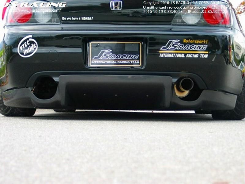J'S RACING FRP rear diffuser