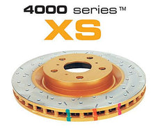 Load image into Gallery viewer, Rear 258mm DBA disc brake - 4000 series - XS (Premium Cross-Drilled & Slotted)