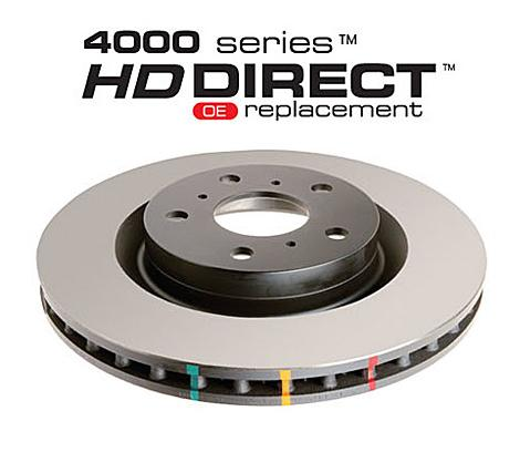 Front 300mm DBA disc brake - 4000 series - Heavy Duty