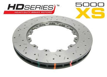 Load image into Gallery viewer, Front 295mm DBA disc brake - 5000 series - Replacement Rotor Only - XS Cross-Drilled & Slotted (replacement NAS lock nuts included)