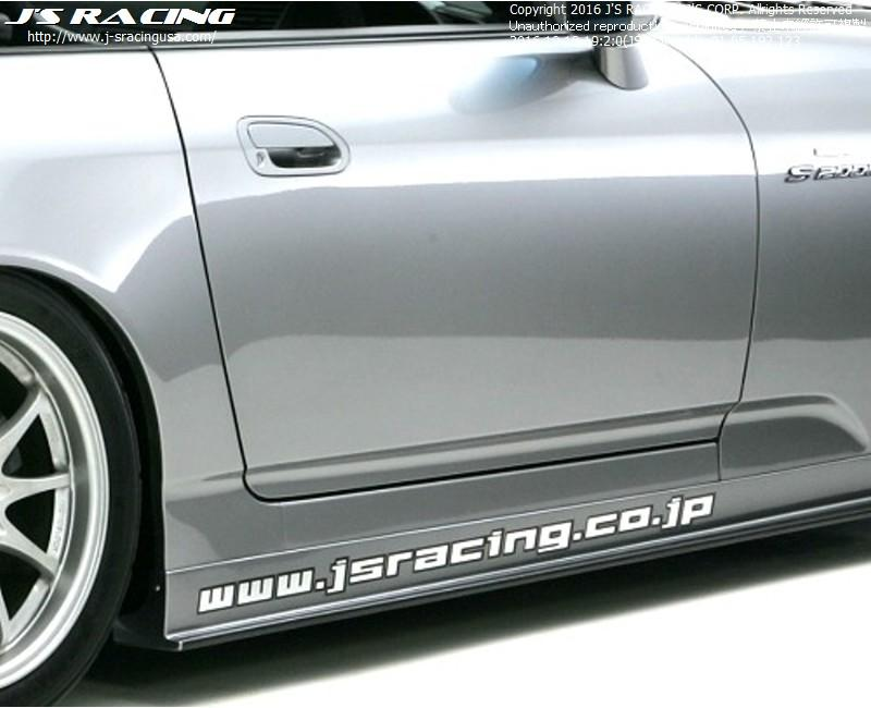 J'S RACING Side skirts CFRP Street Ver.
