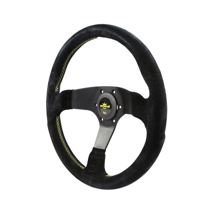 350MM PERSONAL FITTI CORSA SUEDE STEERING WHEEL