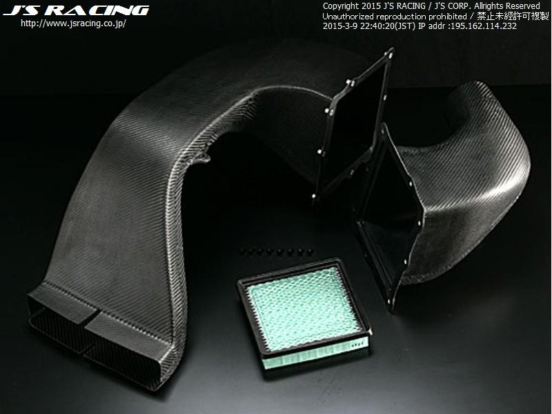 J's Racing S2000 AP1-2 SPL Induction Box