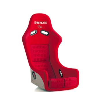 BRIDE ZIEG III BUCKET SEAT CARBON ARAMID RED
