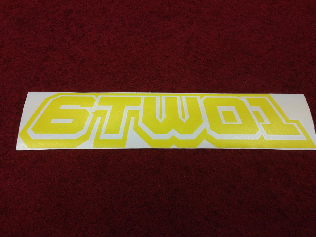6TWO1 : Track Invader Decal (50cm) Large