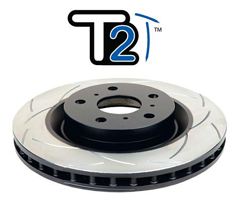 Rear 307mm DBA disc brake - Street Series - T2 Slotted