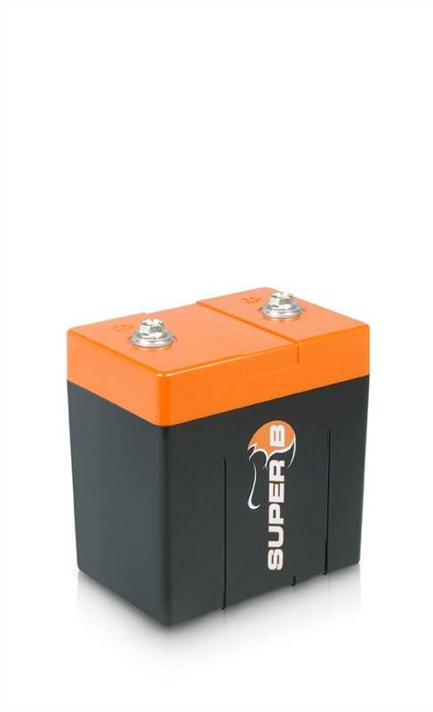 SUPER B 10P BRACKET LITHIUM ION BATTERY