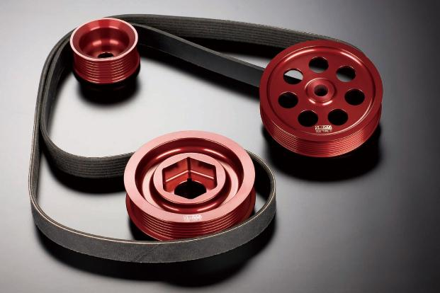Toda Lightweight Front Pulley Kit (without air-con)