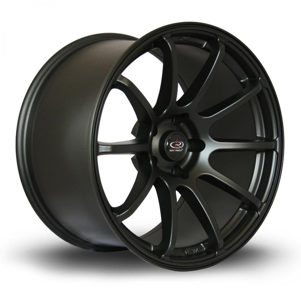 Rota Force in Flat Black 18x10.5, 5x114.3, ET20