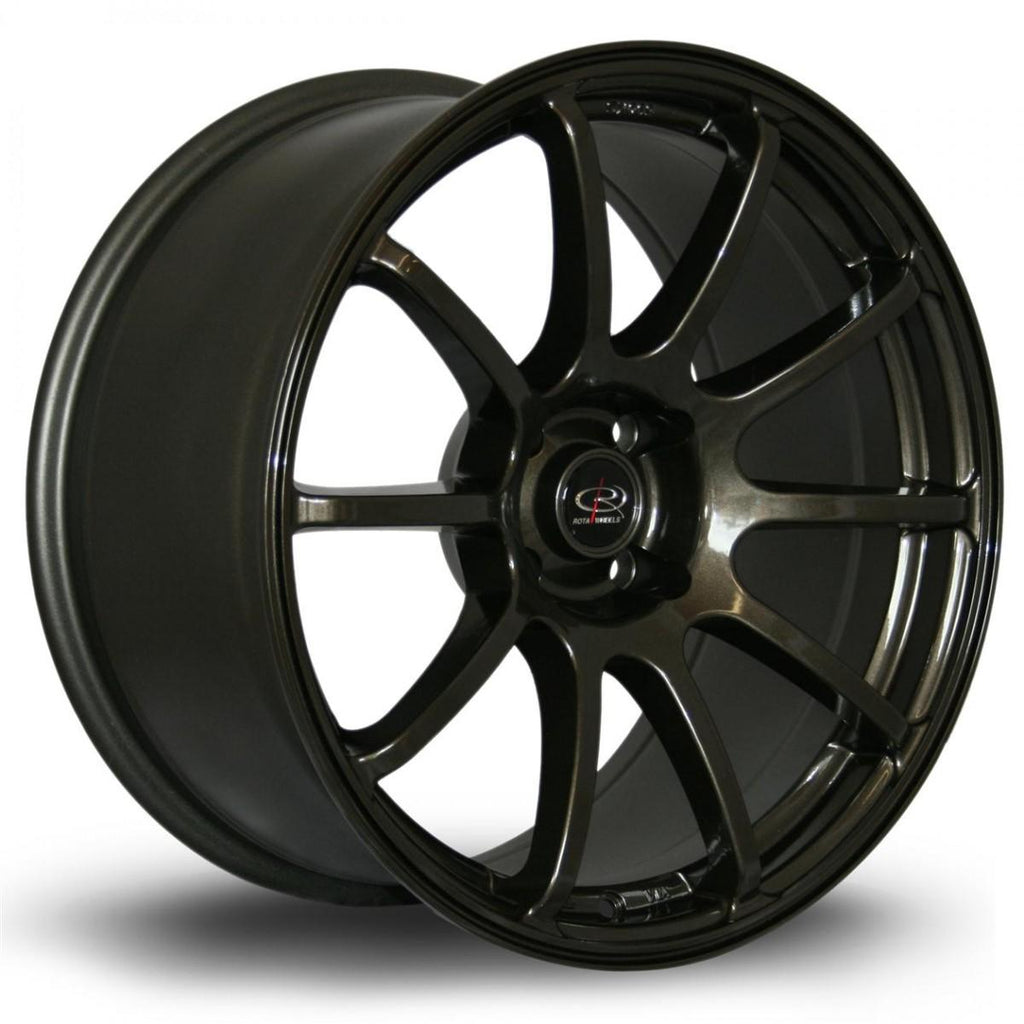 Rota Force in Gunmetal 18x9, 5x100, ET35