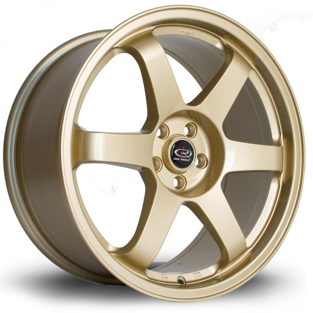 Rota Grid in Gold 18x8.5, 5x100, ET44