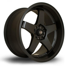 Load image into Gallery viewer, Rota GTR-D in Flat Black 18x9.5, 5x114.3, ET12