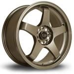 "Load image into Gallery viewer, 17x7.5"" 5x114.3 ET45 Rota GTR in Bronze"