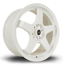 Load image into Gallery viewer, Rota GTR in White 17x9.5, 5x114.3, ET12