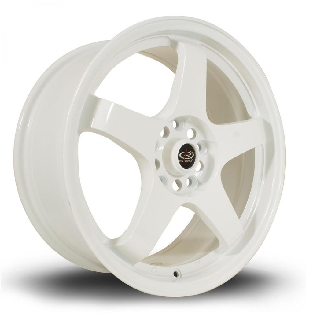 Rota GTR in White 17x9, 5x114.3, ET25