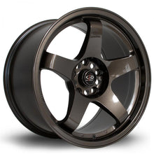 Load image into Gallery viewer, Rota GTR in Gunmetal 17x7.5, 5x114.3, ET35