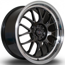 Load image into Gallery viewer, Rota MXR in Gunmetal with polished lip 18x8.5, 5x112, 5x100, ET38