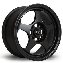 Load image into Gallery viewer, Rota Slipstream in Flat Black 16x8, 4x100, ET34