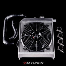 Load image into Gallery viewer, K-TUNED PASSENGER SIDE RADIATOR KIT K-SWAP