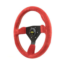 Load image into Gallery viewer, 330MM PERSONAL GRINTA SUEDE LEATHER STEERING WHEEL