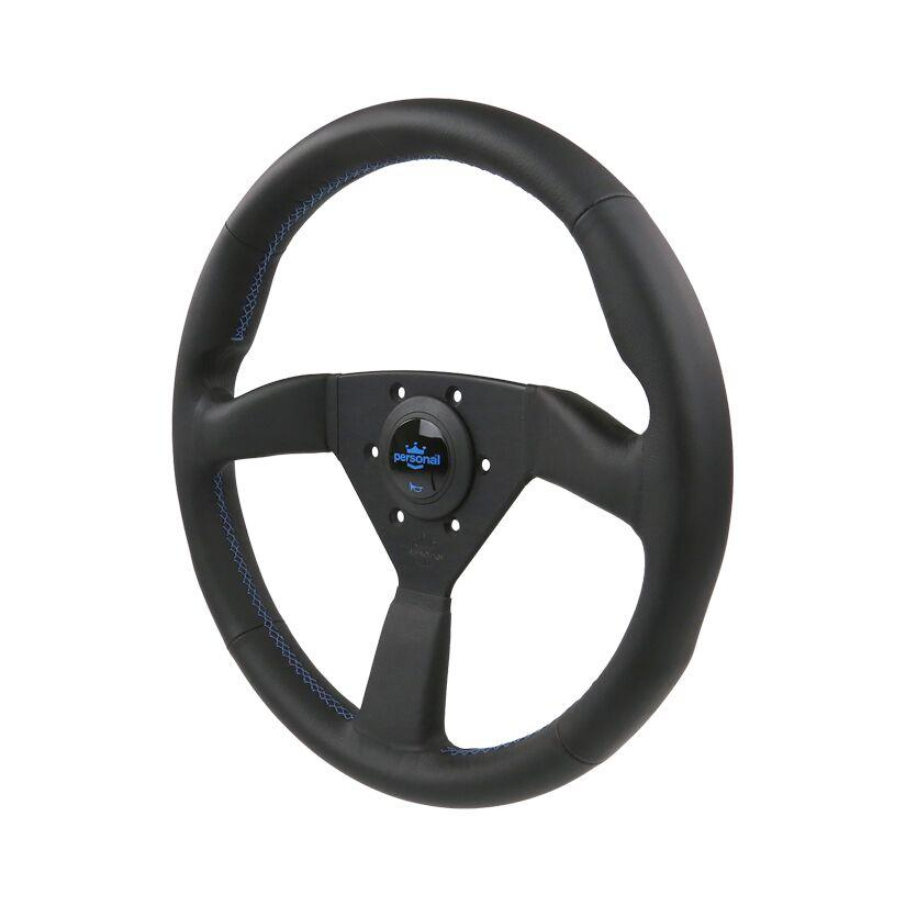 350MM PERSONAL NEO EAGLE LEATHER STEERING WHEEL
