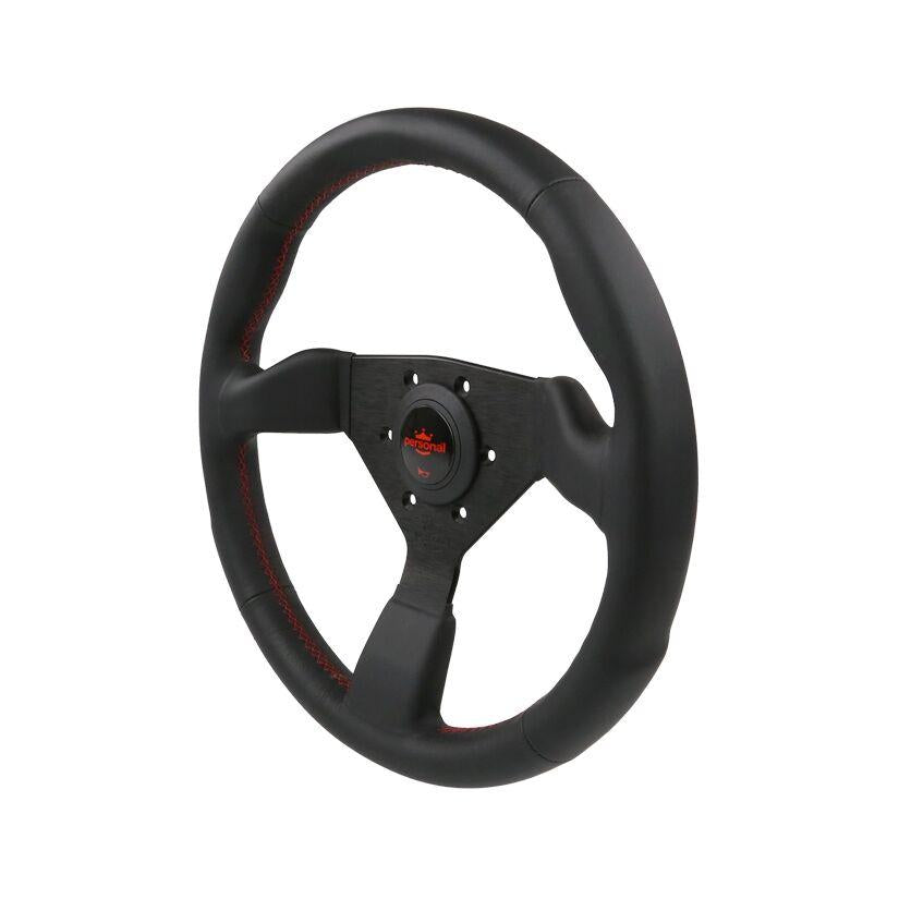 350MM PERSONAL NEO GRINTA LEATHER STEERING WHEEL