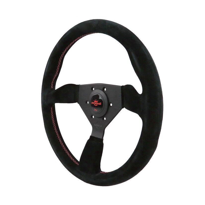 330MM PERSONAL NEO GRINTA SUEDE LEATHER STEERING WHEEL