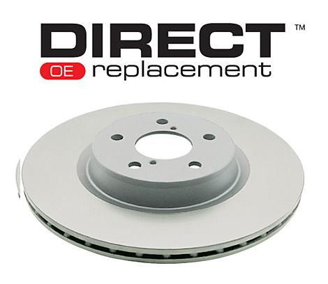 Rear 350mm DBA disc brake - Street Series - Standard