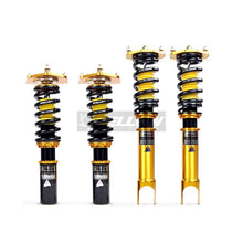 Load image into Gallery viewer, MITSUBISHI EVOLUTION 4 YELLOW SPEED RACING PREMIUM COMPETITION COILOVERS