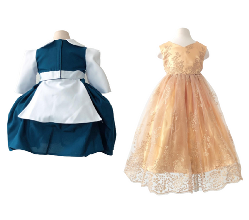 Belle Inspired Transformation Dress