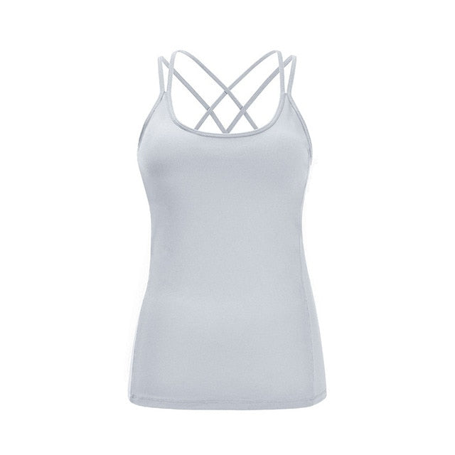 "fit-sleeves - ""Hollow Out"" Tank Top - Fit Sleeves -"