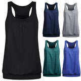 "fit-sleeves - ""Classic"" Sleeveless Workout Tank Top - Fit Sleeves -"