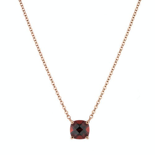 Royal Garnet Necklace
