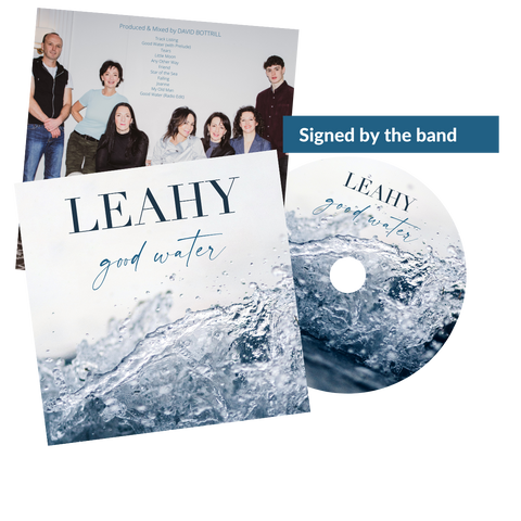 Signed Good Water CD