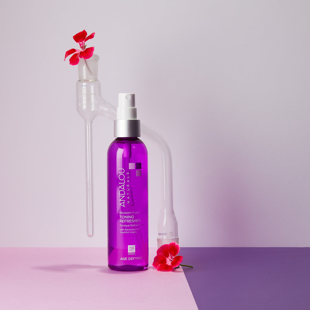 Age Defying Blossom + Leaf Toning Refresher - Andalou Naturals US