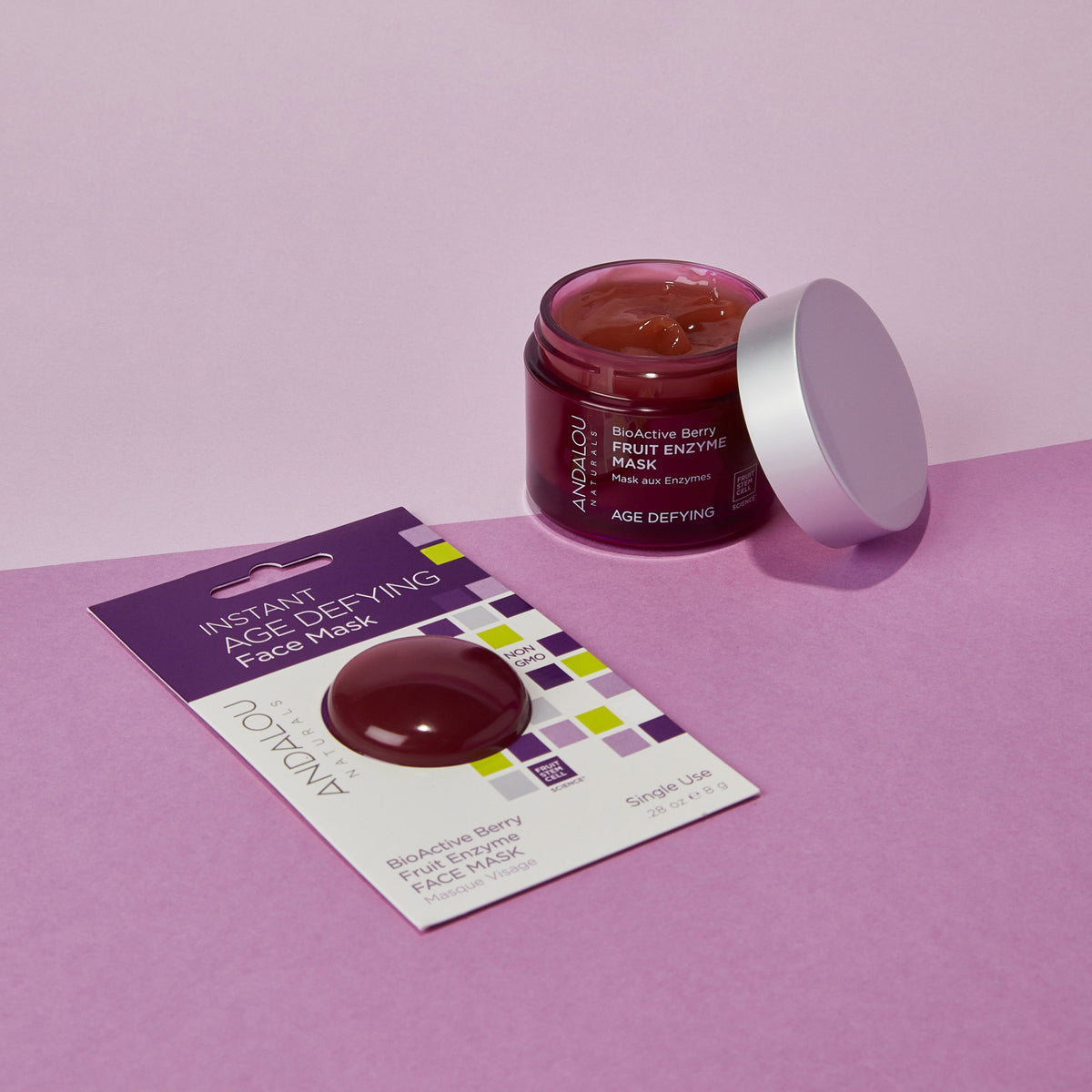 Age Defying BioActive Berry Fruit Enzyme Mask - Andalou Naturals US