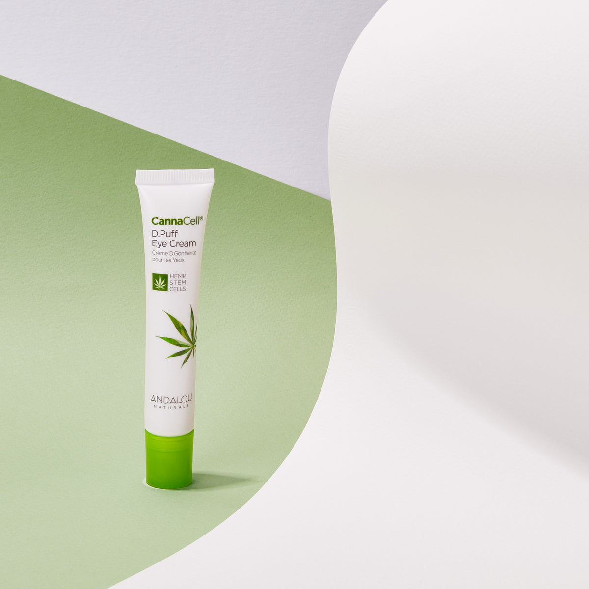 CannaCell D.Puff Eye Cream - Andalou Naturals US