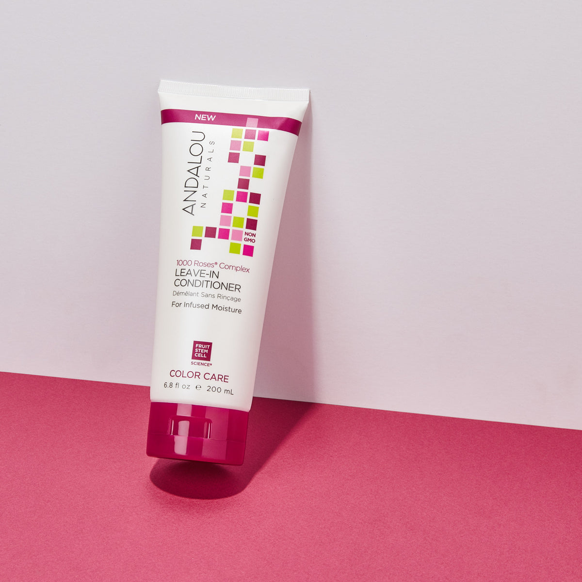 1000 Roses Complex Color Care Deep Conditioning Leave-In Conditioner - Andalou Naturals US
